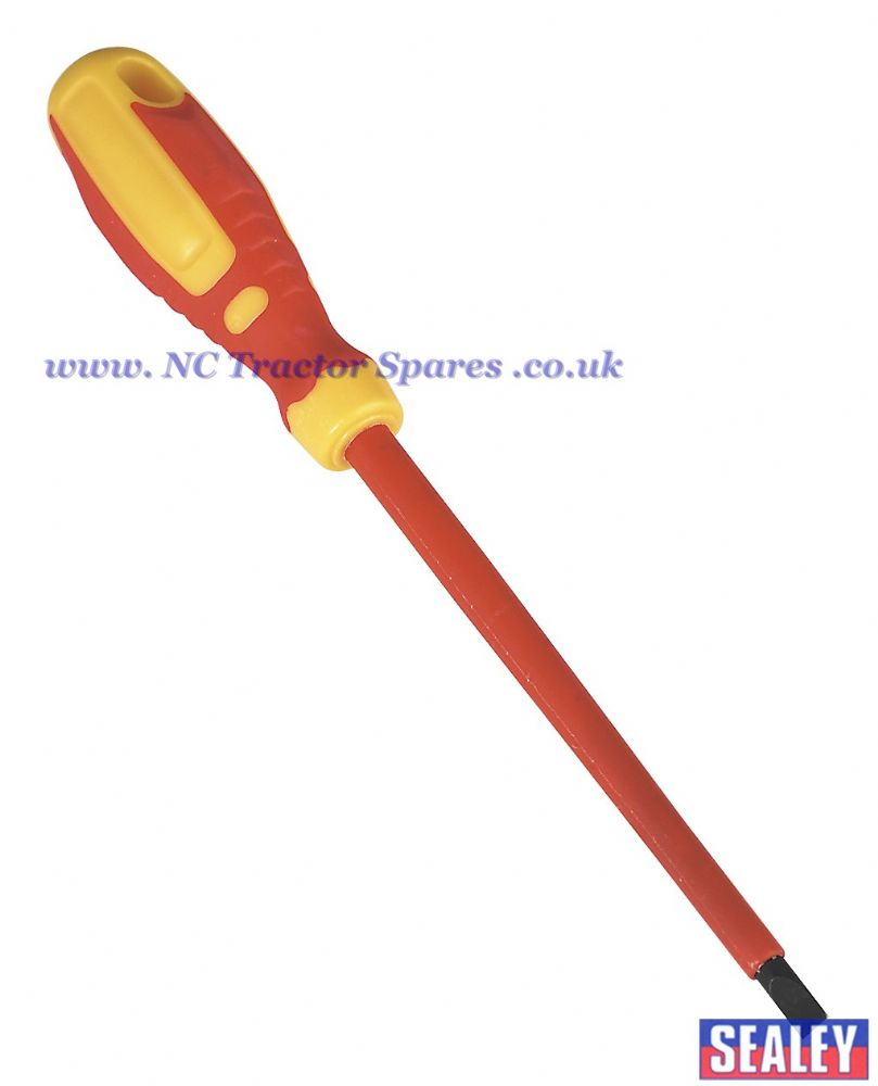 Screwdriver Slotted 6.5 x 150mm VDE/TUV/GS Approved GripMAX